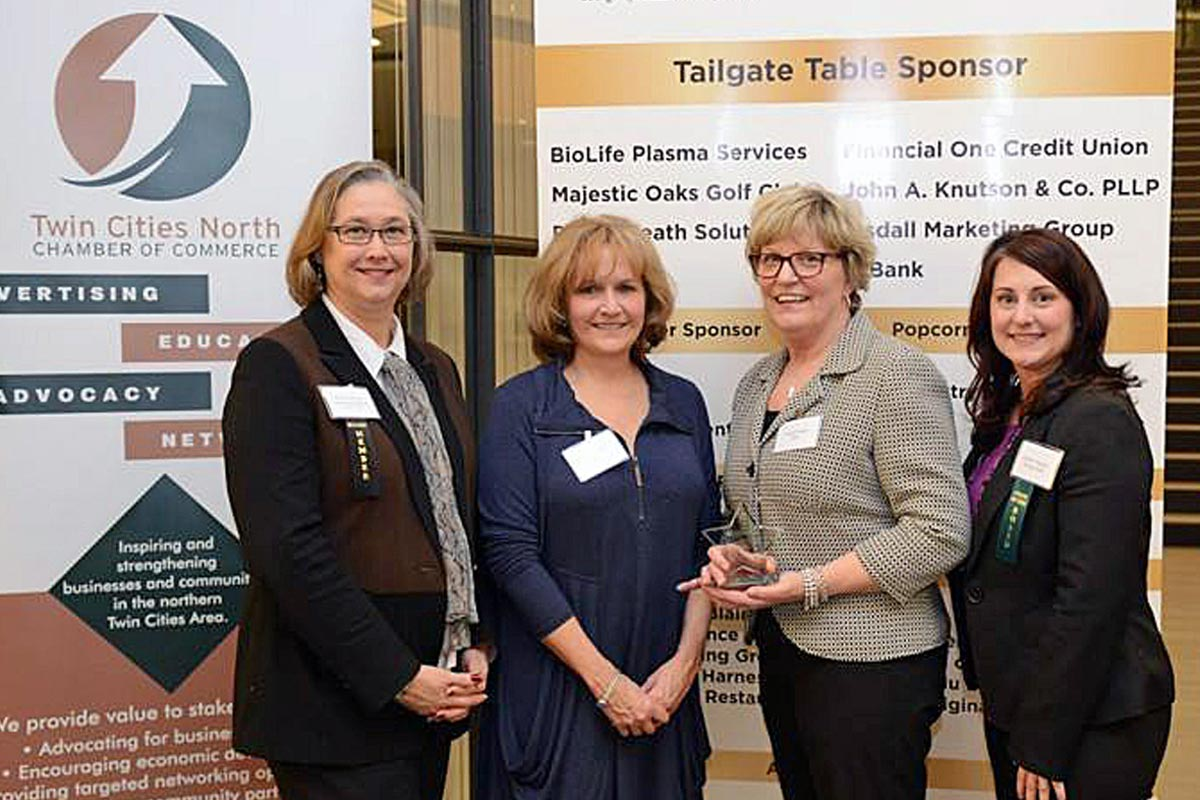 TWIN CITIES NORTH CHAMBER NAMES RISE 'NONPROFIT OF THE YEAR'