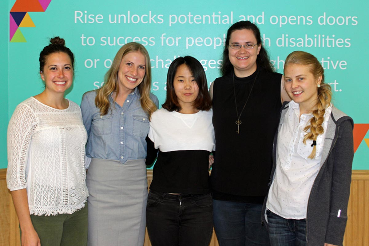 RISE OFFERS WIDE RANGE OF INTERESTING INTERNSHIPS