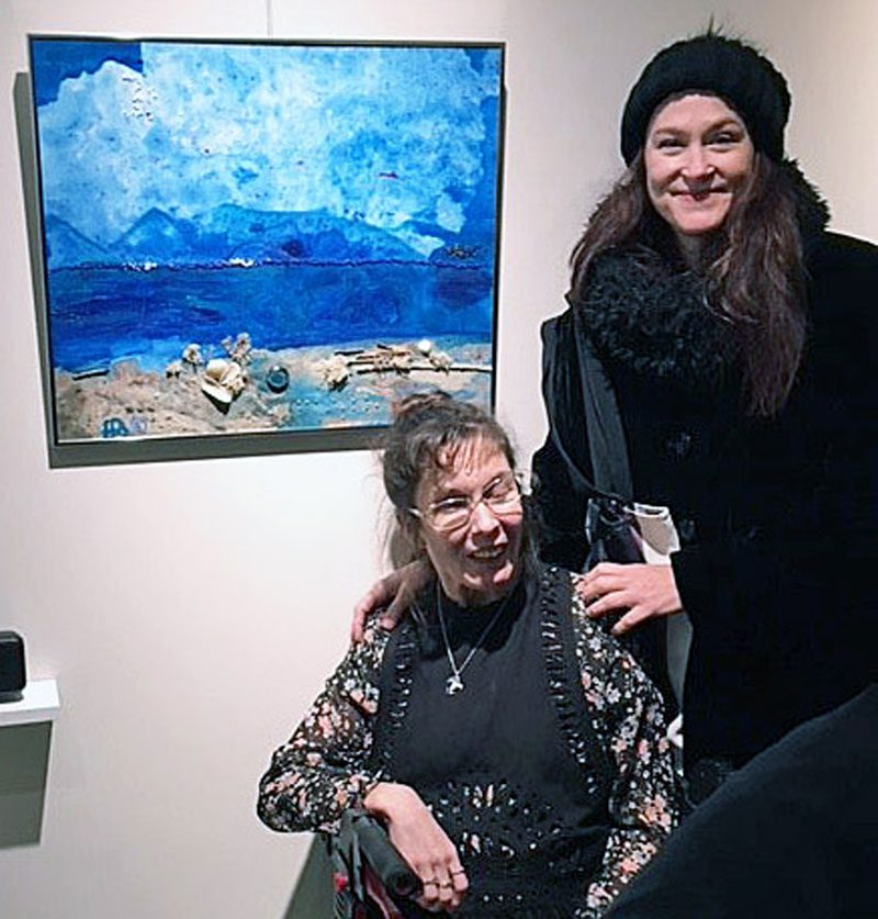 Heather and Deb honored  for creative, collaborative pieces in two prestigious Twin Cities art events