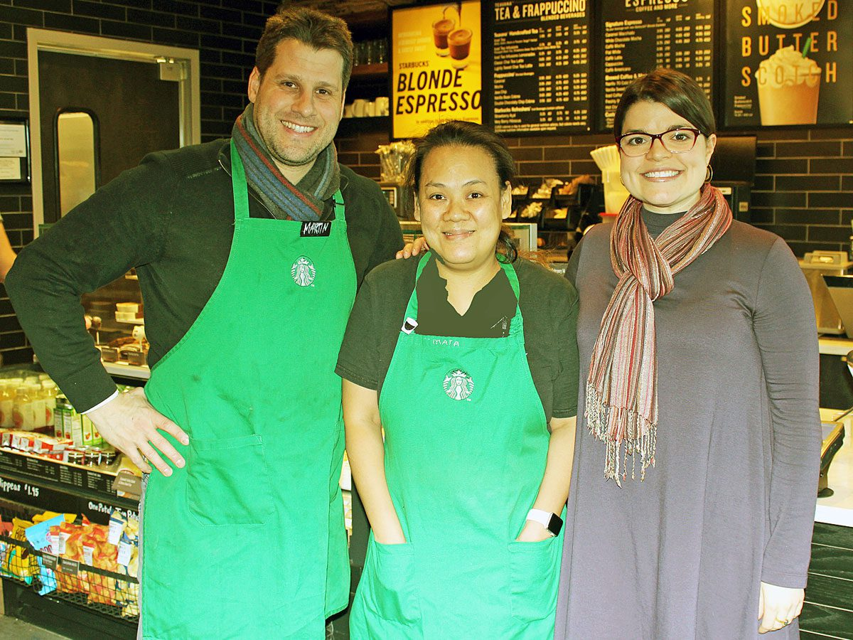 Mata enjoys her Starbucks job and extra coffee 'perks'