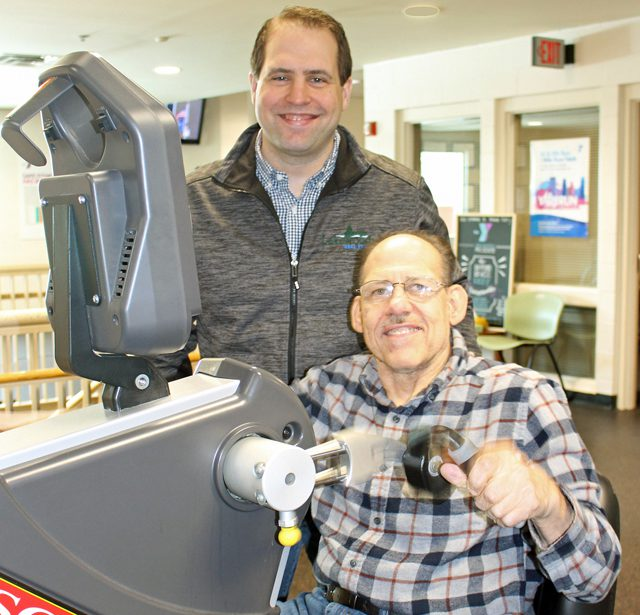 Volunteer Mike Brisky carries on his father's legacy in service