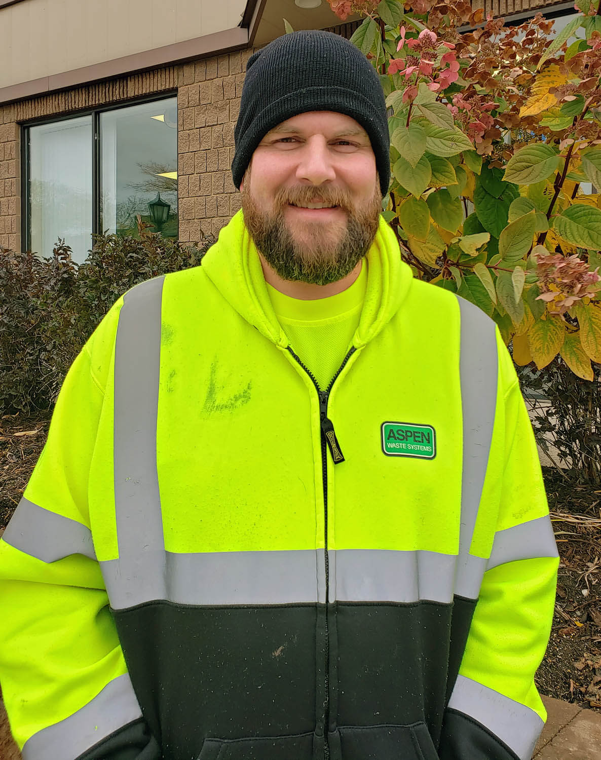With support from Rise and HCMHC, Cliff finds a great job at Aspen Waste Systems that suits his personality perfectly