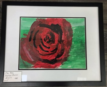 Heather has featured painting in Courage Kenny's annual art sale